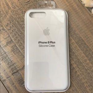 iPhone 7/8 Plus Apple Silicone Case White